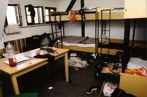 Das Zimmer der älteren Jungen wird durchaus noch übertroffen ...