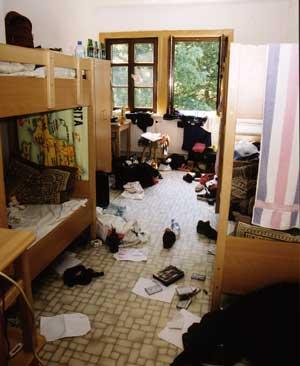 ... vom Mädchenzimmer.