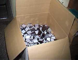 Unser neues Kassetten- Archivierungssystem schafft mehr Raum für spontane Arbeitsergebnisse
