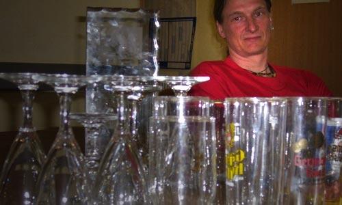 Enttäuschung macht sich breit: Doch kein Wodka-Casting (oder wie das nun heißt).