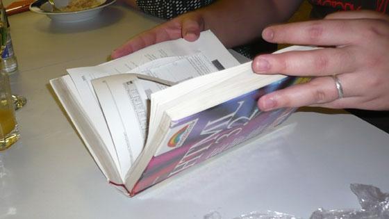 Das Not-Book. Ein Gegenentwurf zum EeePC, der bekanntlich ohne Festplatte auskommt.