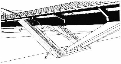 Treppe Waldschlösschenbrücke