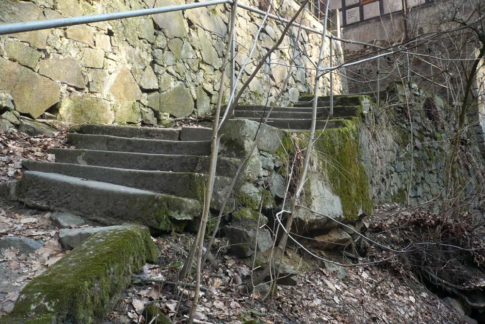 Treppe Keppgrund Dresden