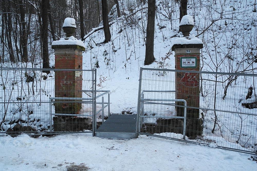 Brücke über Wachwitzbach zur Wachbergschänke