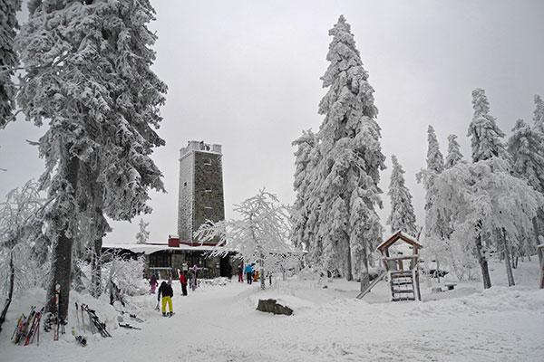Ochsenkopf, Gipfel