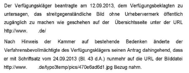 Auszug aus dem Urteil (Klick führt zum Dokument)
