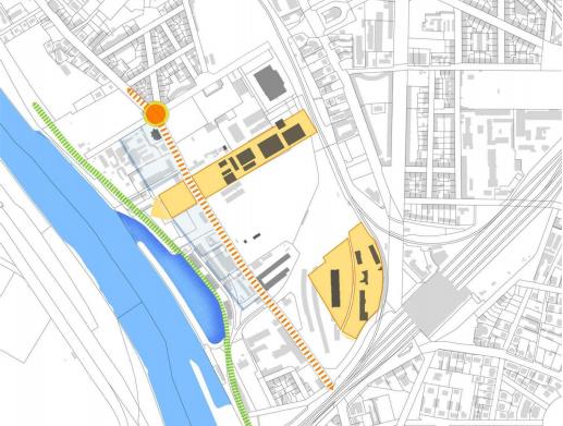 Kulturspange Masterplan Dresden, Leipziger Vorstadt