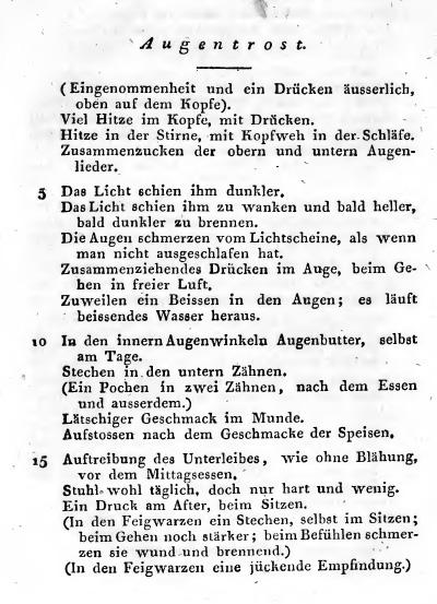 """Samuel Hahnemann: """"Reine Arzneimittellehre, Auszug Band 5"""