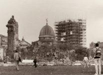 Ruine der Dresdner Frauenkirche