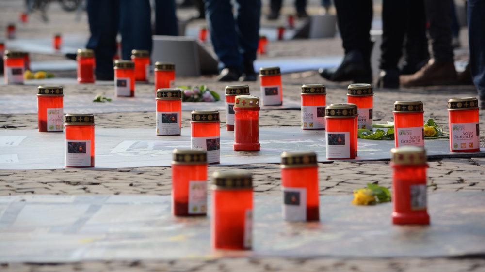 Kunstprojekt, Fotoausstellung Lampedusa 361 Dresden