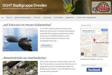 Internetseite DGHT Dresden